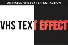 In this tutorial, we will create a VHS-style Photoshop effect for text layers using smart filters, gradient fills, and video overlays.You can find plenty of Photoshop text actions. Photoshop Logo, Photoshop Text Effects, Photoshop Actions, Text Animation, Create Animation, Gaussian Blur, Halftone Pattern, Star Photography, Light Leak