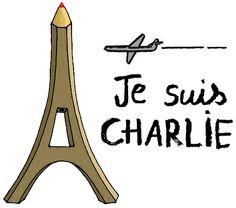 """""""Je préfère mourir debout que vivre à genoux"""" - Charb #CharlieHebdo #JeSuisCharlie #TousCharlie"""