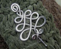 Celtic Tree Shawl Pin / Scarf Pin / Brooch  by nicholasandfelice, $20.00