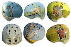 Cute helmets...