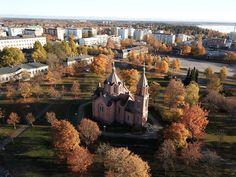 Pyhän Nikolaoksen kirkko, Vaasa, 1866, photo Keskisen Kopteri