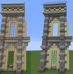 Minecraft Wall Designs, Minecraft Building Designs, Modern Minecraft Houses, Minecraft Structures, Minecraft Castle, Minecraft Medieval, Minecraft Houses Blueprints, Minecraft Plans, Minecraft Survival