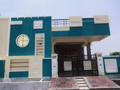 New independent house for sale in Beeramguda BHEL . House Outer Design, House Front Wall Design, Single Floor House Design, Village House Design, Bungalow House Design, Small House Design, Duplex House, Door Design, Front Elevation Designs