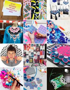 'Get off instagram you have shit loads to do babes' House Clearance, Recycling Center, Mollie Makes, Charity Shop, Something Old, Recycled Fabric, Textile Design, Statement Earrings, Awards