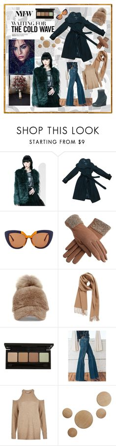 """""""winter in NYC"""" by explorer-14673103603 ❤ liked on Polyvore featuring Bebe, Marni, Steve Madden, Nordstrom, River Island and Design Within Reach"""