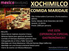 Maridaje en Xochimilco