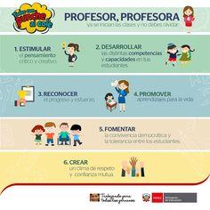 Teresa Clotilde Ojeda Sánchez: Recomendaciones del Ministerio de Educación para e...
