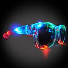 e21c543d34 LED Shades Light Up Sunglasses Perfect For Burning by Flashingo Extreme  Glow