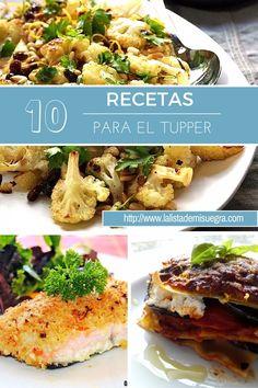 10 Recetas aptos e ideales para el tupper en Invierno. Una selección de platos que no son guisos. ¡Opta por algo diferente!