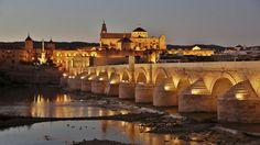 """Puente romano de Córdoba. Rodaje de la 6T de """"Juego de Tronos"""""""
