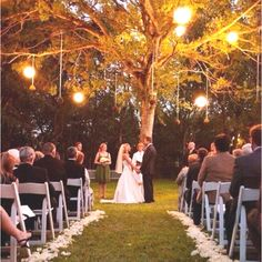 This is such a wonderful wedding setting
