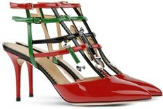 2015 Edition: The 12 Days of Red High Heels- Day 10: CHARLOTTE OLYMPIA SLINGBACKS