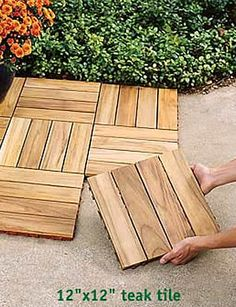 Charming Interlocking Outdoor Flooring Over Concrete   Outdoor Deck Tiles, Decking  Tiles, Ipe, Wood, Snapping ...   New House Ideas   Pinterest   Patios,  Decking And ...