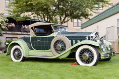 1929 Willys Knight Model 66B Plaidside Roadster