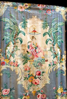 French fabric panel