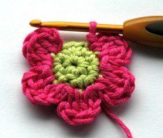 Crochet flowers <3