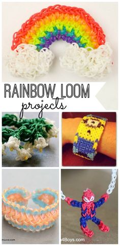 The Rainbow Loom is a perfect way to keep the kids (and yourself) busy this winter. Check out our favorite projects!