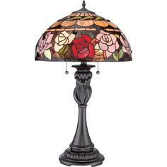 "27.5"" H Table Lamp with Bowl Shade"