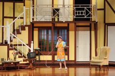noises off images small theater | The Burlington High School Drama Club is ready to raise the curtain on ...