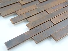 Antiqued copper tile