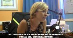 San Pedro de #Jujuy: DESFILE JARDINES DE INFANTES  nota a Graciela Moises Secretaria de Desarrollo Social de la Municipalidad de San Pedro de #Jujuy