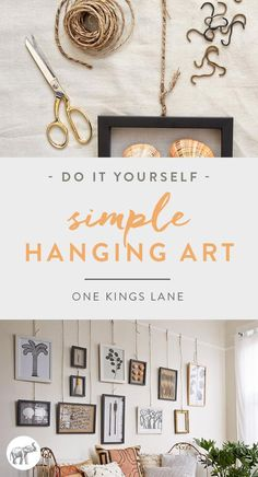 Looking for a new way to display your art? Old-school picture-rail moldings might just be the answer—after all, what's old is new again!