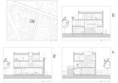 Residenza a Ljubljana con pareti di metallo perforato by OFIS architects | Dd Arc Art