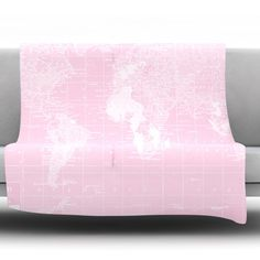 Her World by Catherine Holcombe Fleece Throw Blanket
