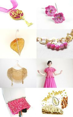 Tickled Pink by Arlene on Etsy--Pinned with TreasuryPin.com
