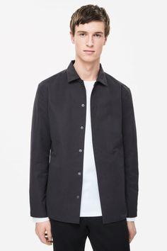 Lightweight shirt jacket