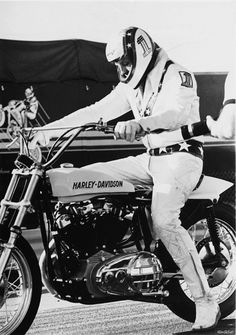 Evel and the XR750.