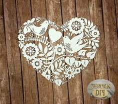 """Laser Cut Chipboard """"Love songs"""" by SiberianDIYcraftsArt on Etsy Paper Art, Paper Crafts, Crafty Fox, Kirigami, Love Songs, Metal Art, Paper Cutting, Art Drawings, Stencils"""