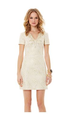 Lilly Pulitzer - MILANNIA SHORT SLEEVE SHIFT DRESS  $278