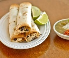 Creamy Chicken Taquitos by shelly