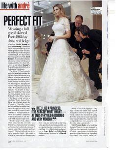 Tiffany Trump at Ivankas Wedding Ivanka Trump Wedding Dress