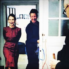 NEW/OLD | Lily on set of The Darkest Hour with Gary Oldman! #lilyjames . via @giseleschmidtofficial