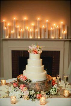Iluminando tu boda con velas [Fotos]