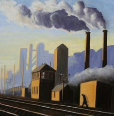 The Gas Works by Ken White