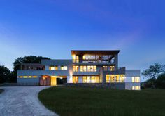 Fishers Island House by Resolution: 4 Architecture, New York : Modern prefab modular homes