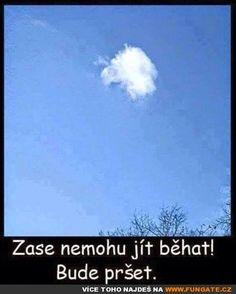 Zase nemohu jít běhat! English Jokes, Stupid Memes, Haha, Motivation, Funny Things, Quotes, Facebook, Random, Nice