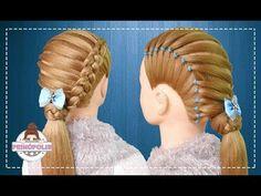 Peinados faciles y rapidos de graduacion para niñas con trenzas holandesas - тривалість 6 50 My Hair, Hairstyle, Long Hair Styles, Ideas, Girls, Youtube, Fashion, Up Dos, Types Of Hairstyles
