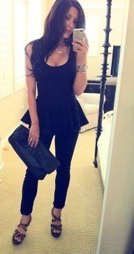 Summer night outfit.