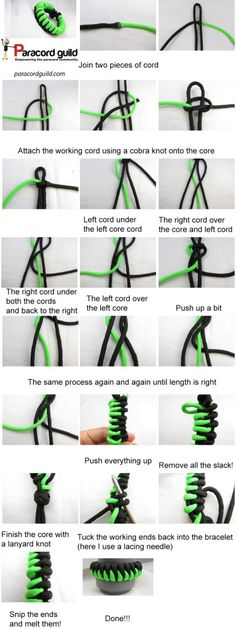 sawtooth paracord bracelet instructions