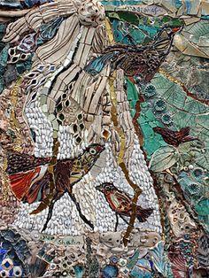 """Ilana Shafir, """"Birds in the Garden"""""""