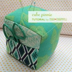 It's tutorial time! I used Tula Pink's Eden line which is hitting stores now. You can find the full line locally at Village Fabric; Amy has kits for the pinnie! Read through all the directions before