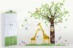Playroom Wall Decal Kids Room Wall Stickers Nusery by PopDecors