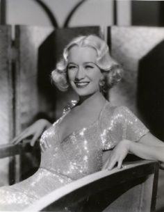 Miriam Hopkins, Design for Living, 1933 (gowns by Travis Banton)