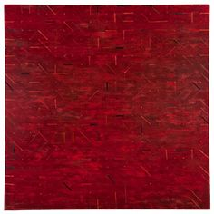 """Power Boothe, Heraclitean Fire, 2011, 72"""" x 72"""", oil on canvas"""