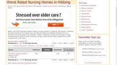 Worst Rated Nursing Home in Hibbing, is the Guardian Angels!  http://www.thirdage.com/d/nh/saint-louis-county/worst-rated/hibbing-nursing-homes-minnesota