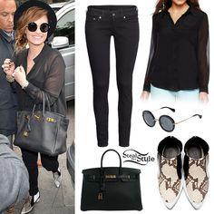 Demi. Lovato-Style